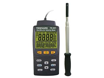 Tenmars TM-4001 Hot-Wire Air Velocity Meter