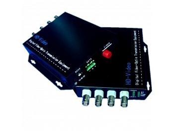Beneston AHD-FB04TX/RX 4-channel AHD Fiber-Optic Transceiver (Transmitter and Receiver)