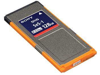 Sony SBS-128G1B 128GB SxS Memory Card (pack 5 pcs)