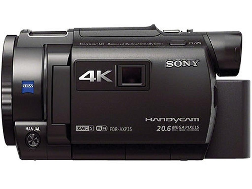 Sony Fdr Axp35 4k Camcorder Pal With Built In Projector Hdr Pj810 Handycam