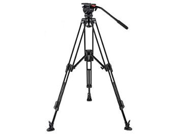 Globalmediapro FH7-CF-M Video Tripod with Carbon Fiber Legs and Mid-Level Spreader