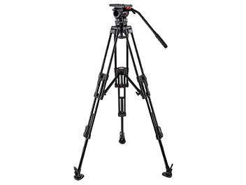 Globalmediapro FH15-CF-M Video Tripod with Carbon Fiber Legs and Mid-Level Spreader