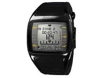 Polar FT60M 90051014 Fitness Watch - Black with White Display