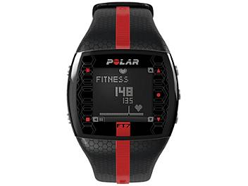 Polar FT7M 90051051 Integrated Fitness Watch with Heart Rate - Black/Red