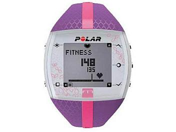 Polar FT7F 90053993 Integrated Fitness Watch with Heart Rate - Lilac/Pink