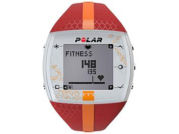 Polar FT7F 90051048 Integrated Fitness Watch with Heart Rate - Red/Orange