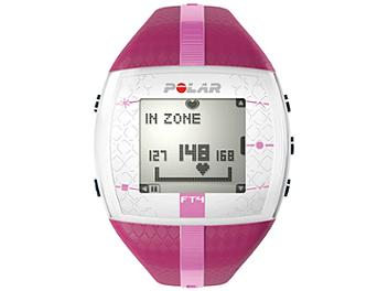 Polar FT4F 90051035 Fitness Watch with Heart Rate - Puple/Pink