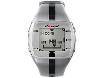 Polar FT4M 90051041 Fitness Watch with Heart Rate - Silver/Black