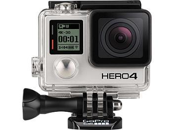 GoPro HERO4 4K Ultra HD Waterproof Camera - Silver