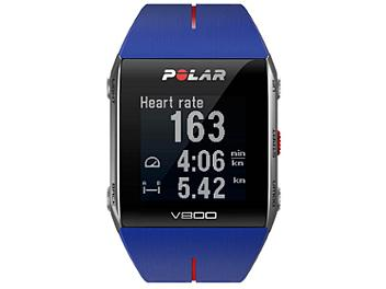 Polar V800 90048949 GPS Sports Watch with Heart Rate - Blue/Red