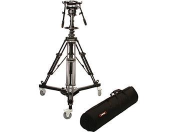 E-Image EI-GH25-Pedestal Kit with Fluid Head and Dolly