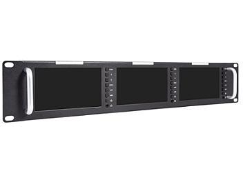 Globalmediapro FVT51 5-inch Triple Rack Mount HD-SDI LED Monitor