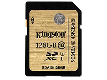 Kingston 128GB UHS-1 SDXC Memory Card (Class 10)
