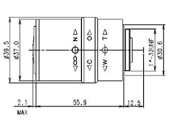 Samyang 4.0-12.0mm SCVHM4012M ASIR CCTV Lens