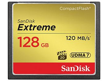 SanDisk 128GB Extreme CompactFlash Memory Card 120MB/s (pack 2 pcs)