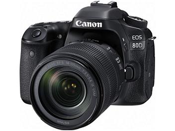 Canon EOS-80D DSLR Camera Kit with Canon EF-S 18-135mm Lens