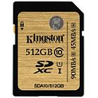 Kingston 512GB UHS-1 Ultimate SDXC Memory Card (Class 10) 90MB/s