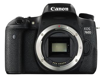 Canon EOS-760D DSLR Camera Body