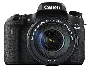 Canon EOS-760D DSLR Camera Kit with Canon EF-S 18-135mm Lens