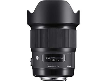 Sigma 20mm F1.4 DG HSM Art Lens - Nikon Mount