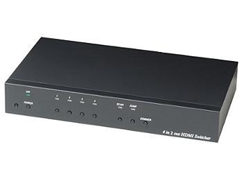 Globalmediapro SCT HS04-4K6G 4x1 HDMI Switcher