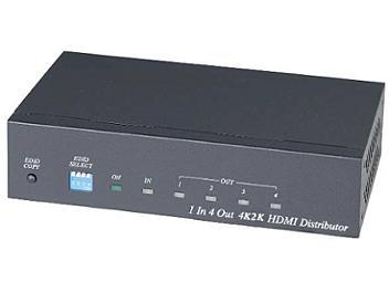 Globalmediapro SHE HD04-4K6G 1x4 4K2K HDMI Distributor / Amplifier