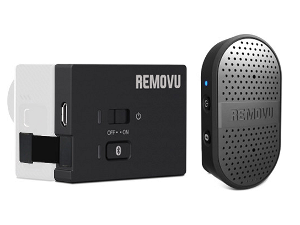 NEW REMOVU M1+A1 WATERPROOF WIRELESS MICROPHONE SYSTEM FOR GOPRO CAMERAS