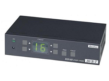 Globalmediapro SCT HE05C HDMI Coaxial Extender (Transmitter and Receiver)