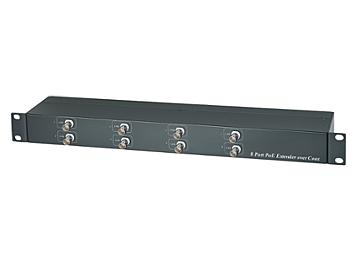 Globalmediapro SHE IP08P 8-channel POE Coaxial Extender
