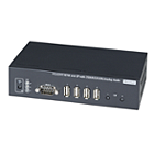 Globalmediapro SHE VDKM01BR VGA / DVI CAT5 Receiver with IR, KVM, USB, RS232