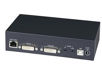Globalmediapro SHE DKM01BT DVI CAT5 Transmitter with IR, KVM, USB, RS232