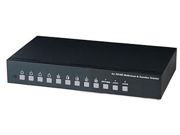 Globalmediapro SHE HM41E 4x1 HDMI Quad Multiviewer & Seamless Switcher