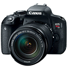 Canon EOS-800D DSLR Camera with 18-135mm Lens