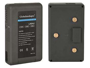 Globalmediapro Li95AU Gold Mount Li-ion Battery 97Wh