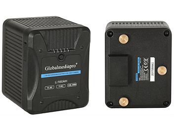 Globalmediapro Li160AH Gold Mount Li-ion Battery 158Wh