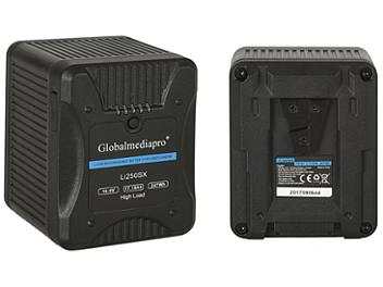 Globalmediapro Li250SX V-Mount Li-ion Battery 247Wh for Red Camera