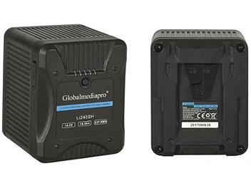 Globalmediapro Li240SH V-Mount Li-ion Battery 237Wh for Red Camera