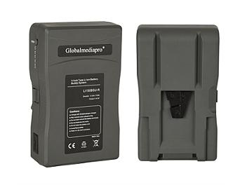 Globalmediapro Li150BSU-R V-Mount Li-ion Buddy Battery System 154Wh for Red Camera