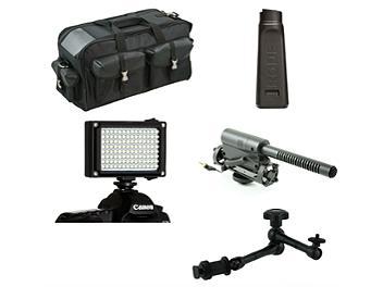Globalmediapro CB-02-K5 Camcorder Accessory Kit