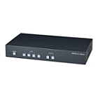 Globalmediapro SHE HS42M-4K6G 4:4:4 HDMI 4x2 Matrix Switcher with Audio Extractor