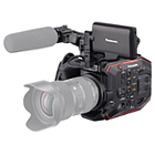 Panasonic AU-EVA1 5.7K Camcorder Kit with Bag and Extra Battery