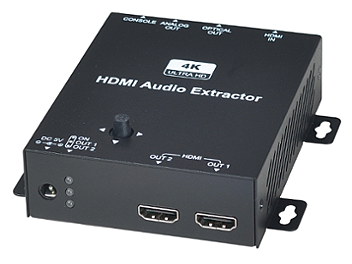 Globalmediapro SHE HAE01 4K HDMI Audio Extractor with Scaler