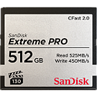 SanDisk 512GB Extreme Pro CFast 2.0 Memory Card 525MB/s