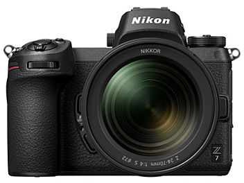 Nikon Z7 Mirrorless Digital Camera Kit with 24-70mm Lens