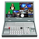 Avmatrix PVS0615 6-input 3G-SDI and HDMI 4K Video Mixer with 15.6-inch Monitor