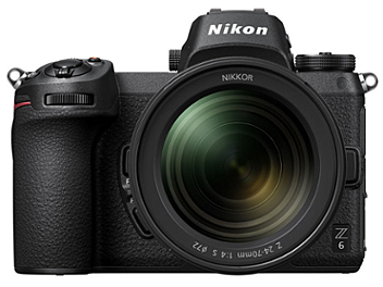 Nikon Z6 Mirrorless Digital Camera Kit with 24-70mm Lens
