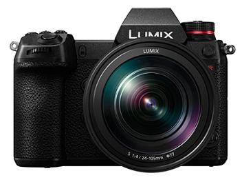 Panasonic Lumix DC-S1R Mirrorless Digital Camera Kit with 24-105mm Lens