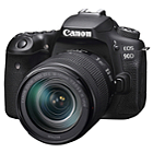 Canon EOS-90D DSLR Camera Kit with Canon EF-S 18-135mm Lens