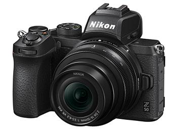 Nikon Z50 Mirrorless Digital Camera Kit with 16-50mm Lens