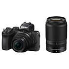 Nikon Z50 Mirrorless Digital Camera Kit with 16-50mm and 50-250mm Lenses